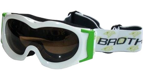 Lyžařské brýle JUNIOR - bílé