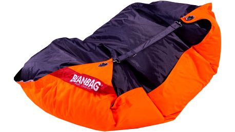 BeanBag Sedací pytel 189x140 duo fluo orange - licorice