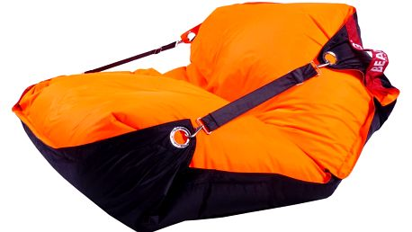 BeanBag Sedací pytel 189x140 duo fluo orange - black