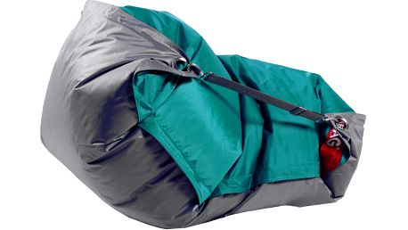 BeanBag Sedací pytel 189x140 duo sea green - gray