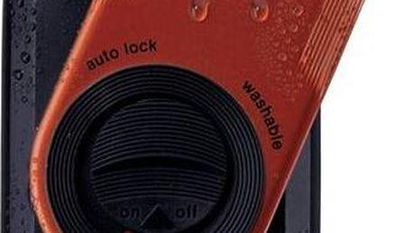 Holicí strojek Braun battery M 60 černý/červený