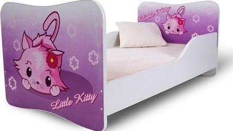 Dětská dívčí postel Kitty