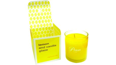 FRAGRANCE vonná svíčka ve skle Vanilka & citron 350g