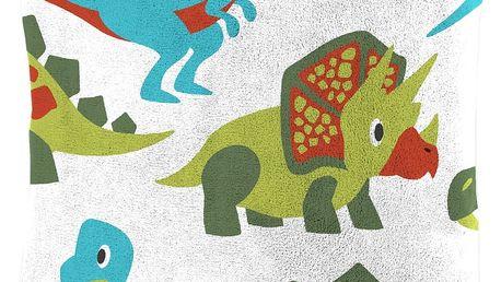 Dětský polštářek beránek Mistral Home Dinosauři 40x40 cm