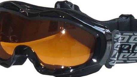 Lyžařské brýle - černé