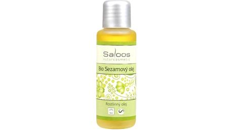 Rostlinné oleje Saloos 50 ml - SLEVA blížící se datum spotřeby - Bio sezamový olej