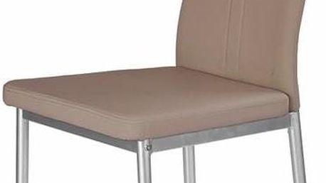 Jídelní židle K202 cappuccino