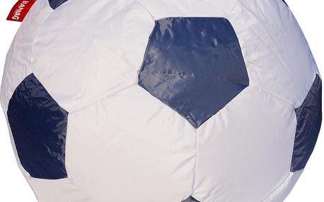 BeanBag Sedací vak fotbalový míč 90 cm - gray