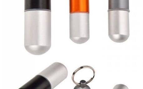 Hliníková pouzdra na léky - 3 kusy