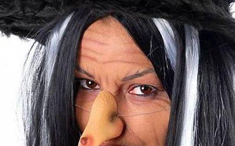 Čarodějnický nos na gumičce Halloween