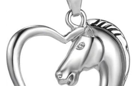 Náhrdelník s přívěskem pro milovnice koní - dodání do 2 dnů