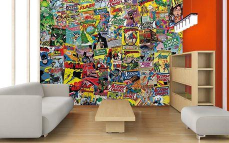 1Wall Kreativní koláž 64 dílů 37,5 x 27,5cm Komiks