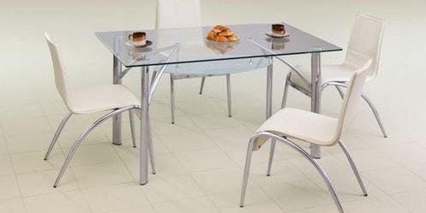 Skleněný stůl Dylan