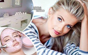 Vyživující ošetření pleti kosmetikou Alcina a vyžehlní vrásek galvanickou žehličkou