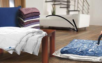 Sada vakuových pytlů k uskladnění prádla