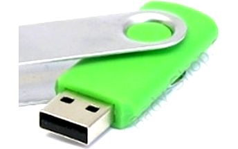 Barevné 64GB USB flash disk - hodně místa pro všechny vaše dokumenty či fotografie.