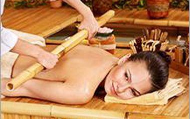 Bambusová masáž na 40 nebo 50 minut. Masáž s použitím bambusu je zážitek, který podporuje zdraví.