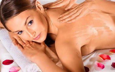Relaxační aromatická olejová masáž