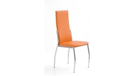 Kovová židle K3 šedá