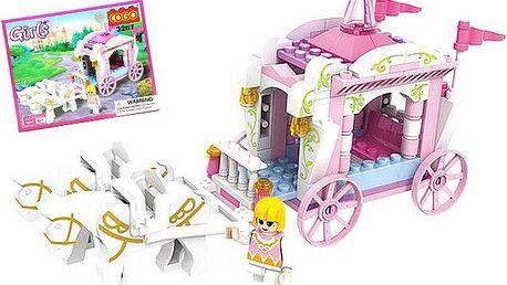 Stavebnice pro holčičky – princeznovský kočár