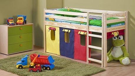 Dětská patrová postel Neo olše