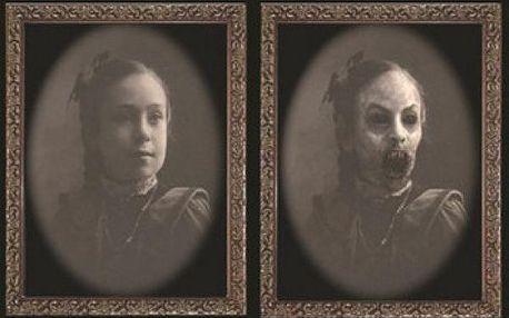 Strašidelné měnící se fotografie Halloween!