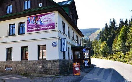3 dny v Krkonoších pro 2 osoby s polopenzí + dítě!