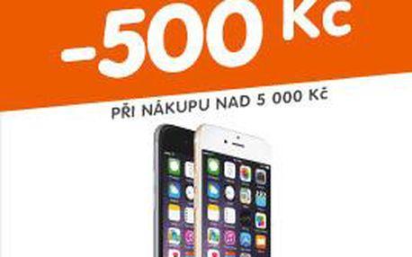 Extra sleva 500 Kč na mobily (při nákupu nad 5000 Kč)