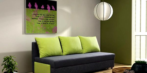Čalouněná pohovka RITA s úložným prostorem, polštáře zdarma