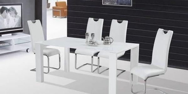 Skleněný jídelní stůl Jonas