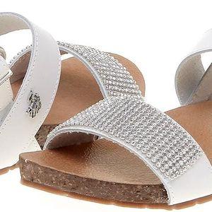 Dámské sandály U.S. Polo Assn., bílé