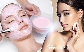 Luxusní kosmetické ošetření pro všechny typy pleti s možností diamantové mikrodermabraze