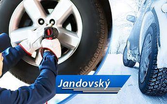 Kompletní přezutí nebo výměna pneumatik u osobních aut, dodávek, offroadů, vanů a tranzitů