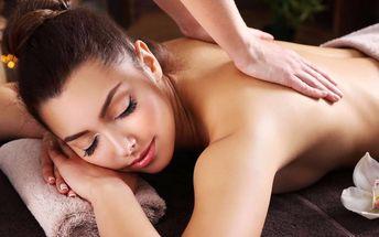 Dokonalý odpočinek: masáž dle výběru