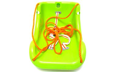 Dětská houpačka BabyGO BigSwing, zelená
