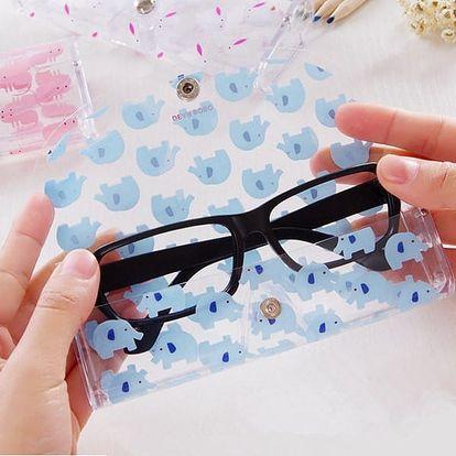 Pouzdro na brýle se zvířátky