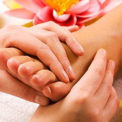 Reflexní masáž chodidel v salonu Xidonia
