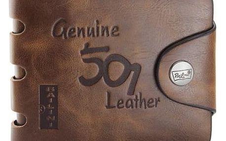 Pánská kožená peněženka - dodání do 2 dnů