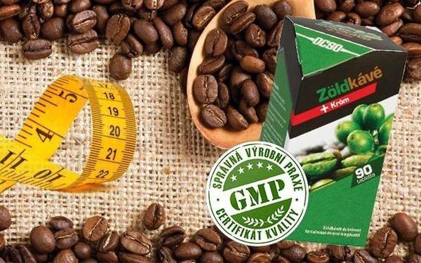 Zelená káva s chromem - podpora při HUBNUTÍ