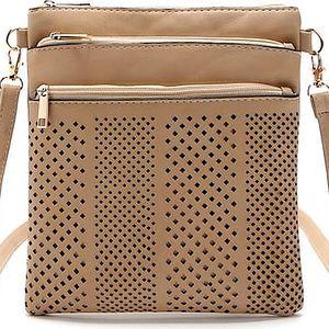 Stylová koženková kabelka v mnoha barvách
