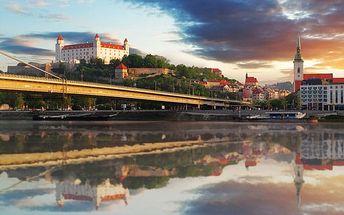 Levná dovolená v Bratislavě pro dva se snídaní