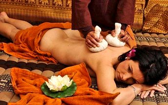 Tradiční thajské masáže v salonu Lotus