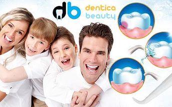 Ústní sprcha pro celou rodinu či Silon gel vč. poštovného: ochrana úst, eliminace bakterií