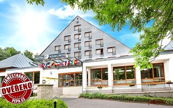 3–5denní pobyt pro dva s wellness v Mariánských Lázních v hotelu Krakonoš
