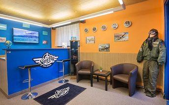 Zážitek v leteckém simulátoru až na 60 min