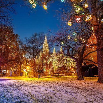 Adventní Vídeň, 1denní výlet na vánoční trhy pro 1 osobu z Prahy či Brna, 7. a 17.12.2016