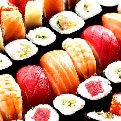 Sushi menu set - 12 ks nebo 25 ks v nově otevřené vietnamsko-thajské restauraci Pho Lam Ha.