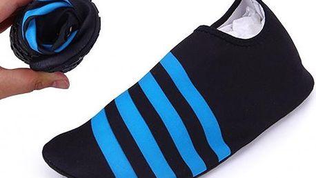 Skládací protiskluzové boty do vody a na sport
