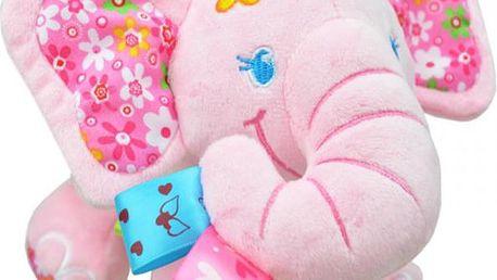 Hrající plyšový slon