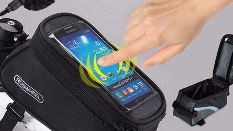 Cyklistické pouzdro na mobil a jiné drobnosti